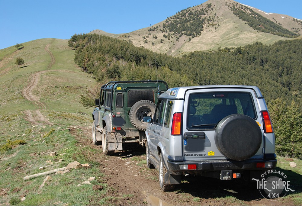 Pyrenees Land Rover Defender Discovery