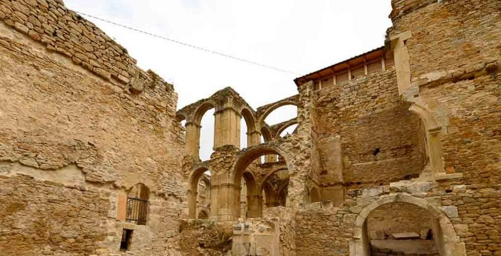 Ruinas, Monasterio de Santa María de Rioseco