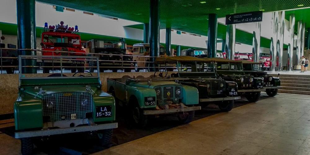 Clásicos Santana Land Rover Series Portugal